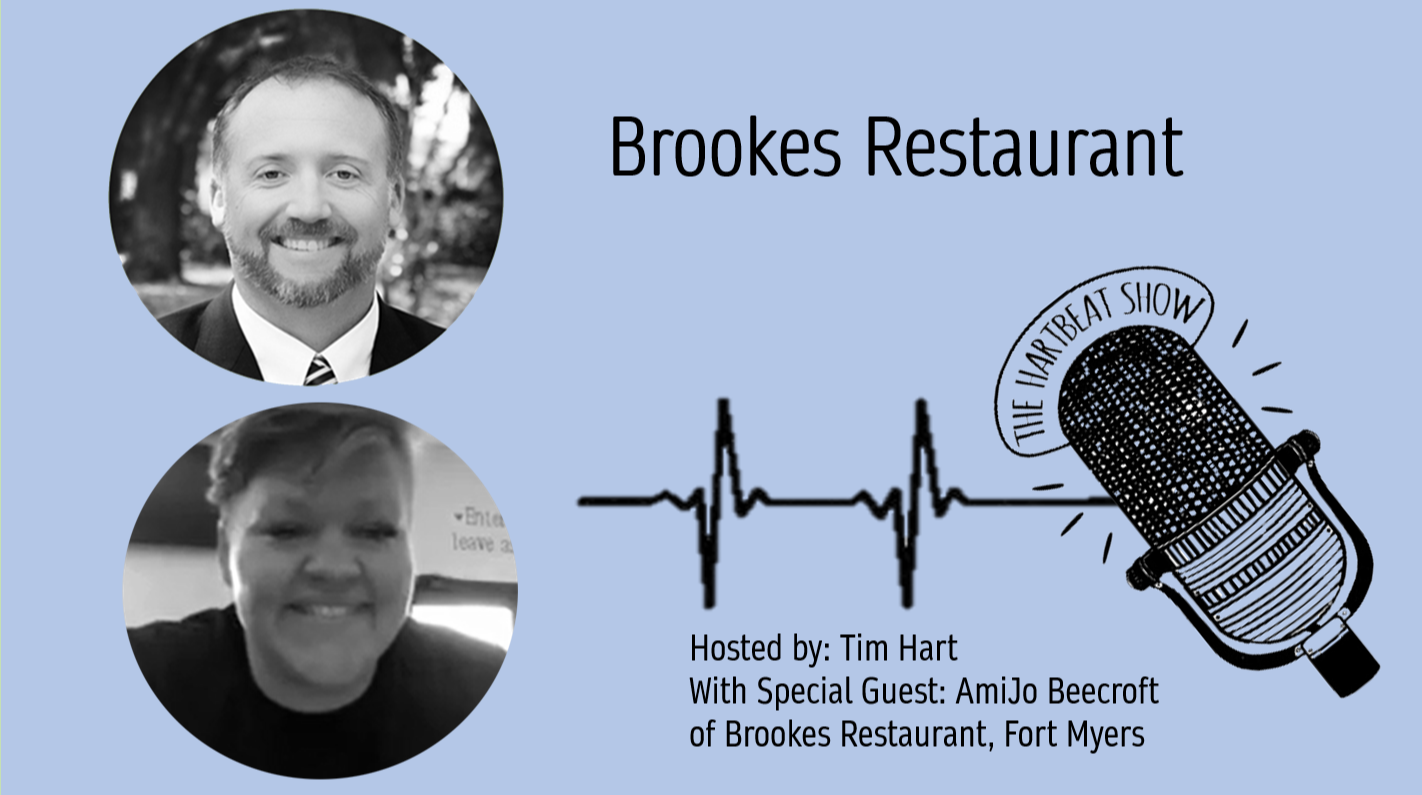 Tim Hart & AmiJo Beecroft of Brookes Restaurant in Fort Myers